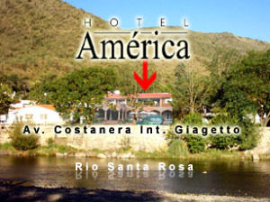 ubicacion de Hotel America